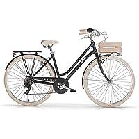"""MBM Apostrophe, Bicicletta Donna, (Nero A01), 28"""""""