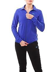 ee462de3f0a26 SPORTKIND Veste de Survêtement de Tennis/Fitness / Sport pour Filles &  Femmes