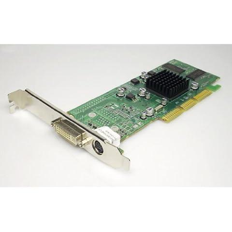 ATI/AMD Radeon 700064m DDR DVI-I + tvo 64MB AGP passivo 1024–9C28–20-MD Z021MD 1024–9C28–00–Scheda video senza (Ati Radeon Low Profile)