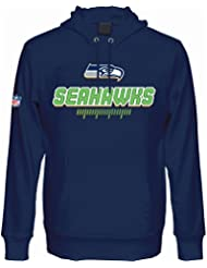 Majestic Fan Hoody - NFL Seattle Seahawks navy
