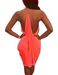 Wuiyepo Femmes Parti Robe de soirée d'été Short Mini robe de Cocktail Club robe