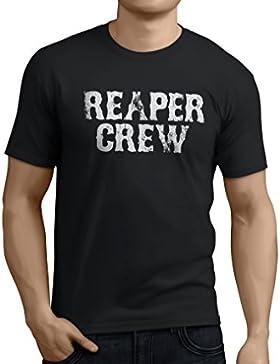 1/4 Mile Kult™ Camiseta/T-Shirt REAPER CREW Samcro Sons of Anarchy SOA Sandman/Reaper Biker