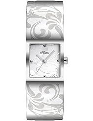 s.Oliver Damen-Armbanduhr Quarz Analog SO-2159-MQ
