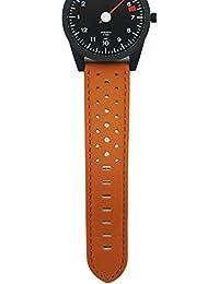Braunes Uhrenarmband aus Leder