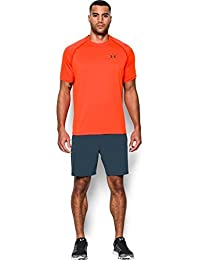 Under Armour Ua Tech Ss Tee, Camiseta De Fitness Hombre, Naranja (Phoenix Fire), S