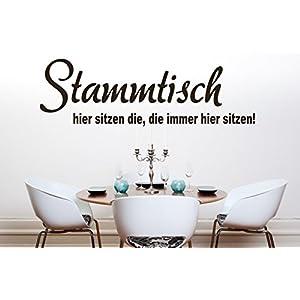 Wandtattoo Wandgestaltung Aufkleber Spruch Küche