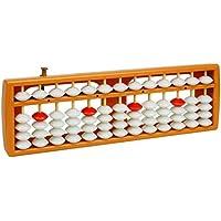 larcele Perle aritméticas ábaco de contar con reinicio 13columna, SP de botón 02