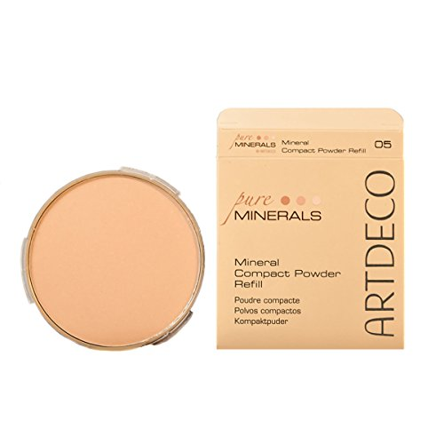 Artdeco Make-Up femme/woman, Mineral Compact Powder Refill Nummer 05 Fair ivory (9g), 1er Pack (1 x 9 g)
