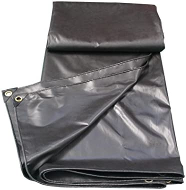 Tarpaulin impermeabile resistente Tenda di copertura per per per telo da campeggio e coperta impermeabile esterna   Base universale per tende 450 g m² Spessore 0,35 mm (nero) (dimensioni   3MX3M) | Moderato Prezzo  | Intelligente e pratico  4266ab