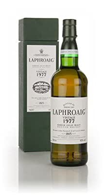 Laphroaig Vintage 1977 Single Malt Whisky