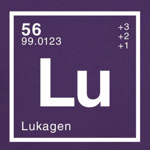 Luka Periodensystem - Herren T-Shirt - 13 Farben Lila