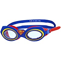 Zoggs Kids' Superman Character Swimming Goggles, Blue/Red/Yellow, 6-14 Years