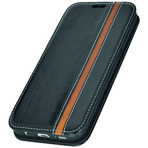 elephones® Handyhülle für Samsung Galaxy S7 Hülle - Kompatibel mit Galaxy S7 Handy Hülle Schutzhülle Handy-Tasche Flip Case Cover