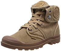 Palladium Womens Lace Up Boots Brown