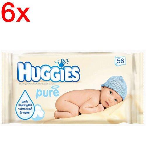 Pure Baby Wipes 6X56 (336 Wipes) 41U 62LuadL
