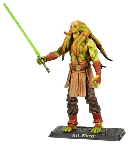 Hasbro Kit Fisto Called to Battle TSC055 - Star Wars The Saga Collection