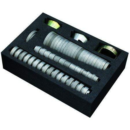 HSS DIN EN24230 L 55mm Cojinete para roscado Hepyc 25070010255 l 18mm /ØBSPT 1//2-14mm