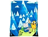 Neue Adventure Time Finn Jake & Mountain Blue, Multi-Usage Tasche mit Kordel zum Zuziehen