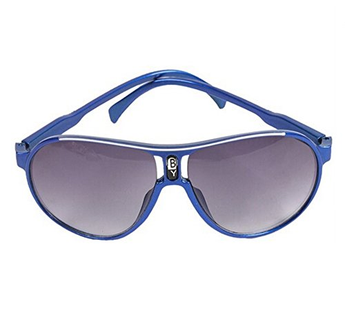 EJY Candy Colors Children Boys Girls Kids Sunglasses Child Goggles Eyeglass (royalblue)