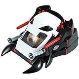 Kung Zhu Pets 2866 - Vehículo de combate para hámster ninja, color rojo y blanco