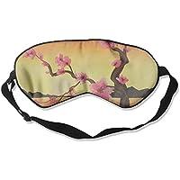 Eye Mask Eyeshade Lake Mountain Painting Sleep Mask Blindfold Eyepatch Adjustable Head Strap preisvergleich bei billige-tabletten.eu