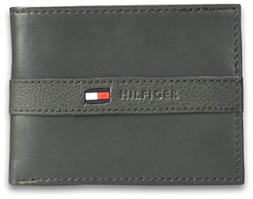 Tommy Hilfiger Leather Men's Wallet Grey