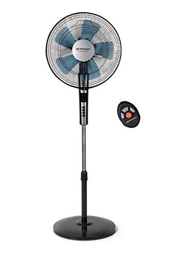 Orbegozo SF 0640 - Ventilador silencioso de pie con mando a distancia,...