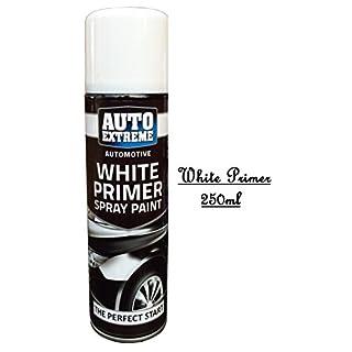 Auto Extreme White Primer Paint Spray Perfect Start Paint Wood Metal 250ml New (1)