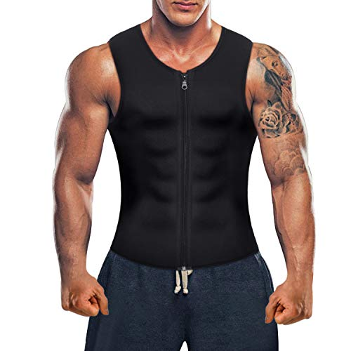 Men Waist Trainer Vest for Weigh...