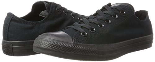 Converse Chuck Taylor All Star, Unisex – Erwachsene Sneaker, Schwarz (Black Mono), Gr.43 EU - 5