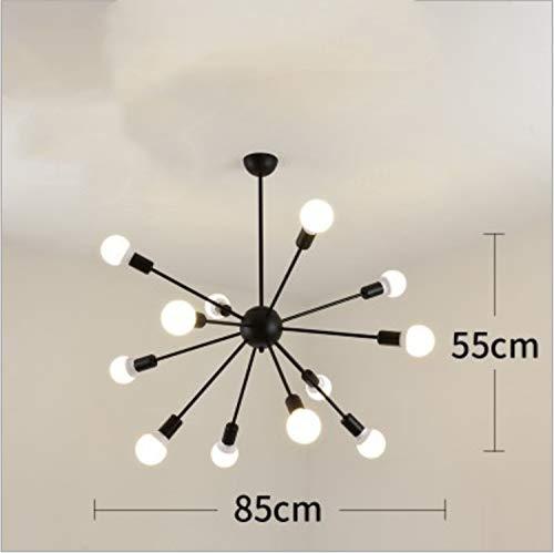 UNIQUE-F Diseño de Hierro Forjado Retro araña lámpara de araña lámpara Colgante...