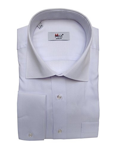 MMUGA -  Camicia classiche  - Classico  - Maniche lunghe  - Uomo Bianco