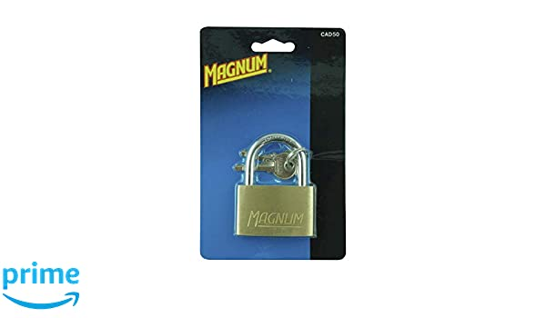 Master Lock CAD50 Vorhangschloss Messing 50 mm Magnum