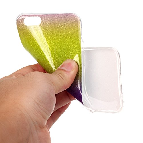 iPhone Case Cover Iphone 6s Plus cas, motif coloré TPU étui souple en caoutchouc silicone couverture de la peau pour iphone 6s Plus ( Color : N , Size : Iphone 6s Plus ) O