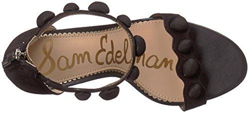 Sam Edelman Addison, Sandales Compensées Femme Noir (noir)
