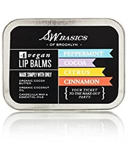 SW Basics Vegan Lip Balm Flight