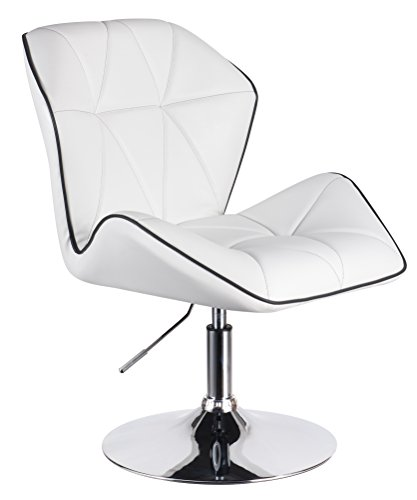 Designer Drehstuhl URBAN von 1stuff - sehr komfortable breite Polsterung - 360 Grad drehbarer...