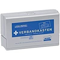 Leina-Werke 10101 KFZ-Verbandkasten Leina-Star Silver Edition, Silber/Blau/Weiß preisvergleich bei billige-tabletten.eu