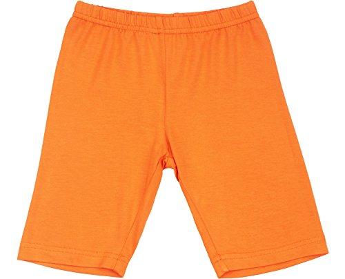 Merry Style Mädchen Kurz Leggings MS10-132 (Orange, 152)