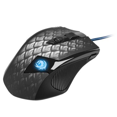Sharkoon Drakonia Black Gaming Laser Maus 8200 dpi (11 Tasten) schwarz - 2