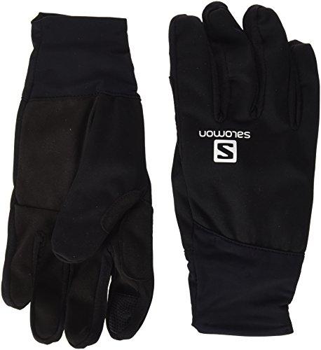 Salomon, Herren Langlauf-Handschuhe, Touchscreen geeignet, EQUIPE GLOVE M, Größe: M, Schwarz, L39504600