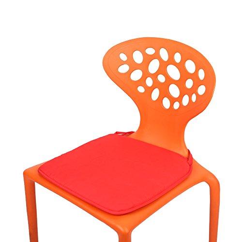 Kicode Mehrfarbig Bürostuhl Stoffkissen Sitzkissen Speisen Garten Patio Outdoor Dekor Für Zuhause Tuch Candy Farbe (Patio-dekor-kissen)