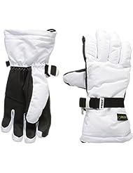Racer Native–Guantes de esquí para mujer, color Blanco - blanco, tamaño XS (talla del fabricante: 2 XS/6)