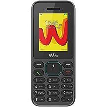 """Wiko Lubi5 - Teléfono móvil libre de 1.8"""" (Dual SIM, Radio FM, teclado físico, Bluetooth, linterna LED y reproductor MP3) color negro"""