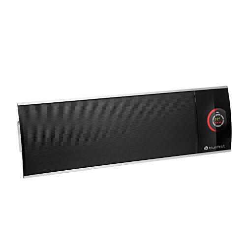 Blumfeldt CosmicBeam Ultra - Radiador Infrarrojo, Estufa 2200W, Display LED, De 5 a 45 °C, Temporizador...