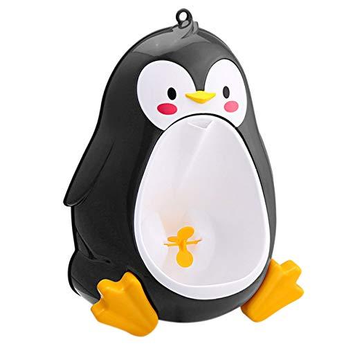 Cartoon Cute Penguin Potty Orinatoio WC in Piedi Orinatoio Bagno Bambini Pee Trainer per 8 Mesi a 6 Anni Ragazzi