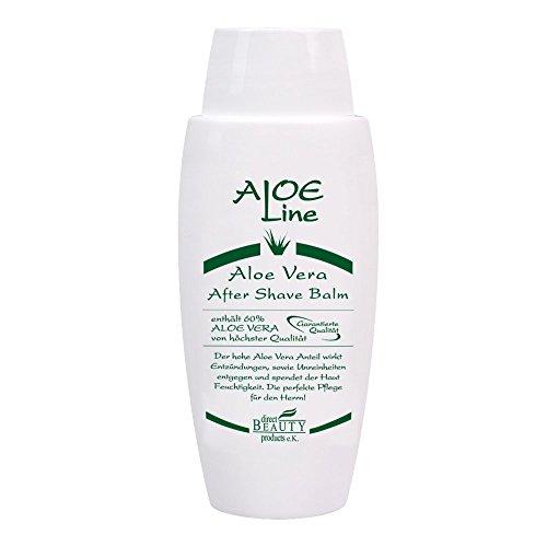 Aloe Vera After Shave Balsam 100ml   Klassischer Duft   Herren Gesichtspflege nach der Rasur   Beruhigt und pflegt die Haut   Made in Germany