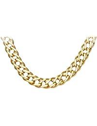 cbbb6f9677341 Amazon.co.uk: Yellow Gold - Necklaces / Men: Jewellery