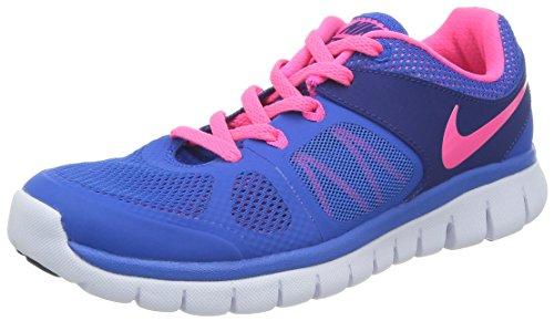 Nike Flex 2014 Rn 642755 Jungen Laufschuhe Training, HYPR CBLT/HYPR PINK, US7Y|UK6|EU40