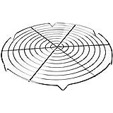 Ibili 780730 - Rejilla enfriatartas redonda 30cm (Acero cromado)